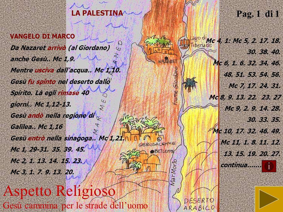 Aspetto Religioso camminare verso Gesù Pag. 2 di 2 Io vi porto una bella notizia: oggi è nato il Salvatore! (Lc 2,10)
