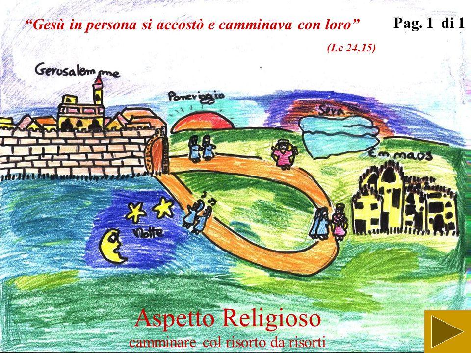 Aspetto Religioso Gesù cammina verso la croce Pag. 1 di 1