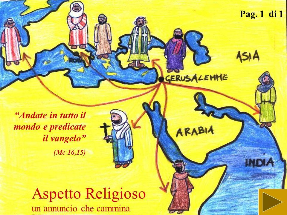 Aspetto Religioso camminare col risorto da risorti Pag. 1 di 1 Gesù in persona si accostò e camminava con loro (Lc 24,15)