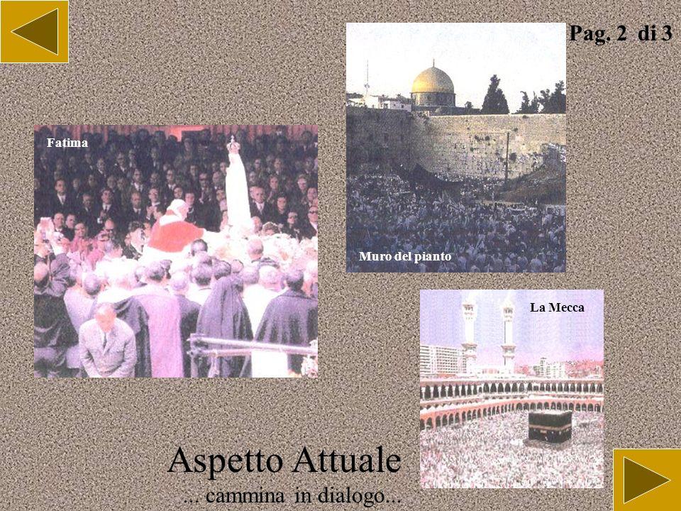 Aspetto Attuale... cammina in dialogo... Pag. 1 di 3 Assisi Lourdes Cerimonia jainista Gange