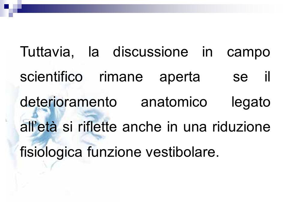 Tuttavia, la discussione in campo scientifico rimane aperta se il deterioramento anatomico legato alletà si riflette anche in una riduzione fisiologic