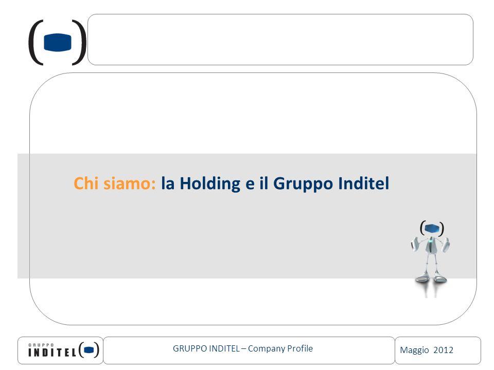 Maggio 2012 GRUPPO INDITEL – Company Profile Chi siamo: la Holding e il Gruppo Inditel