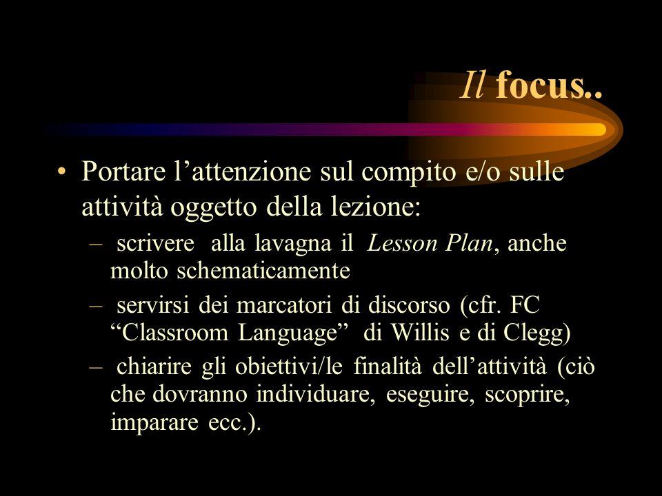 Il focus..