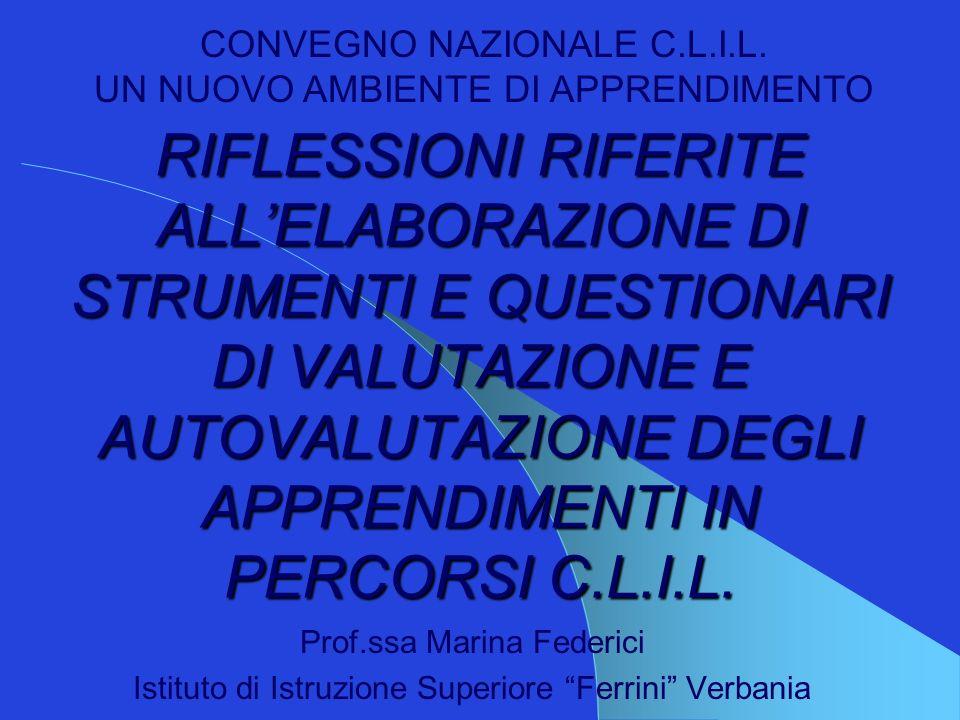 Prof.ssa Marina Federici32 4.Ho rispettato i tempi Sempre – spesso – talvolta –mai 5.