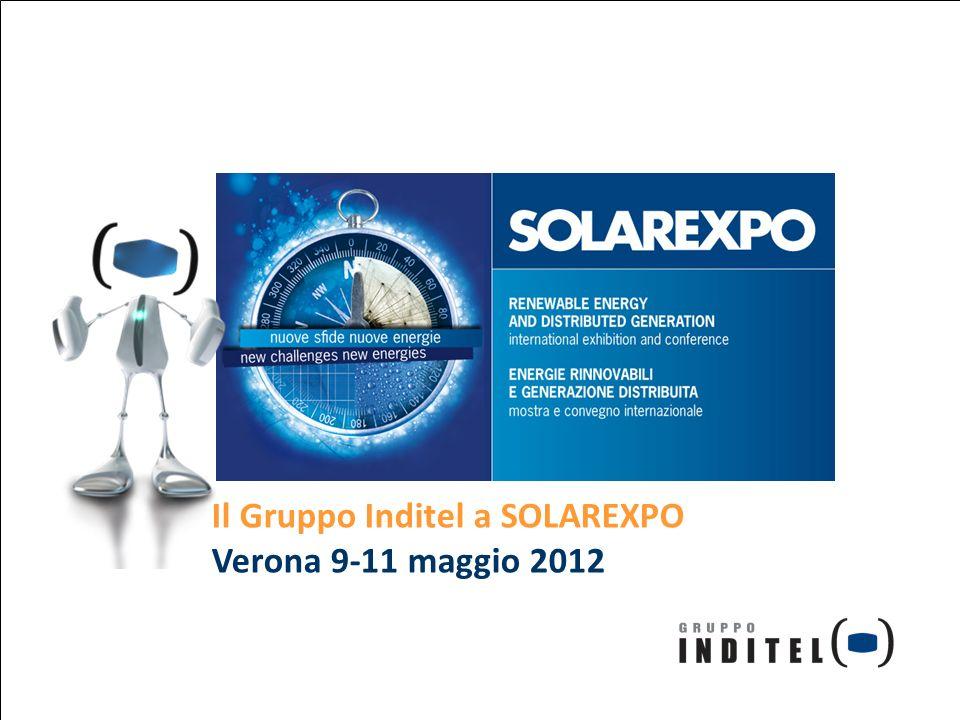 Il Gruppo Inditel a SOLAREXPO Verona 9-11 maggio 2012