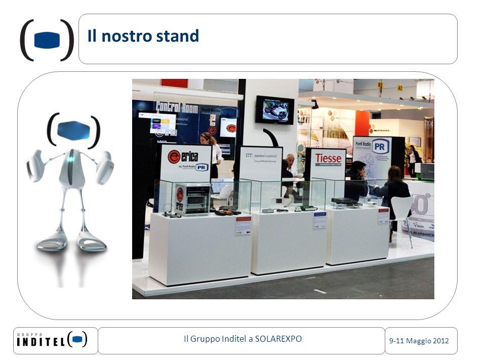 Il Gruppo Inditel a SOLAREXPO 9-11 Maggio 2012 Il nostro stand