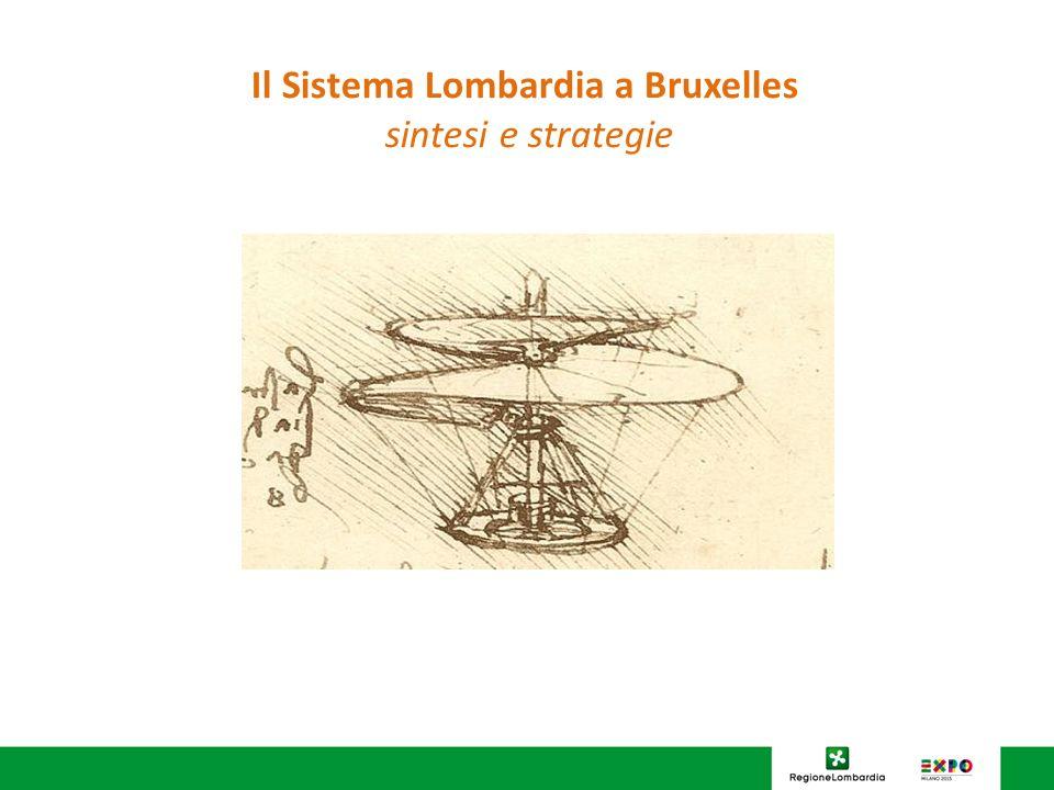 Il Sistema Lombardia a Bruxelles sintesi e strategie