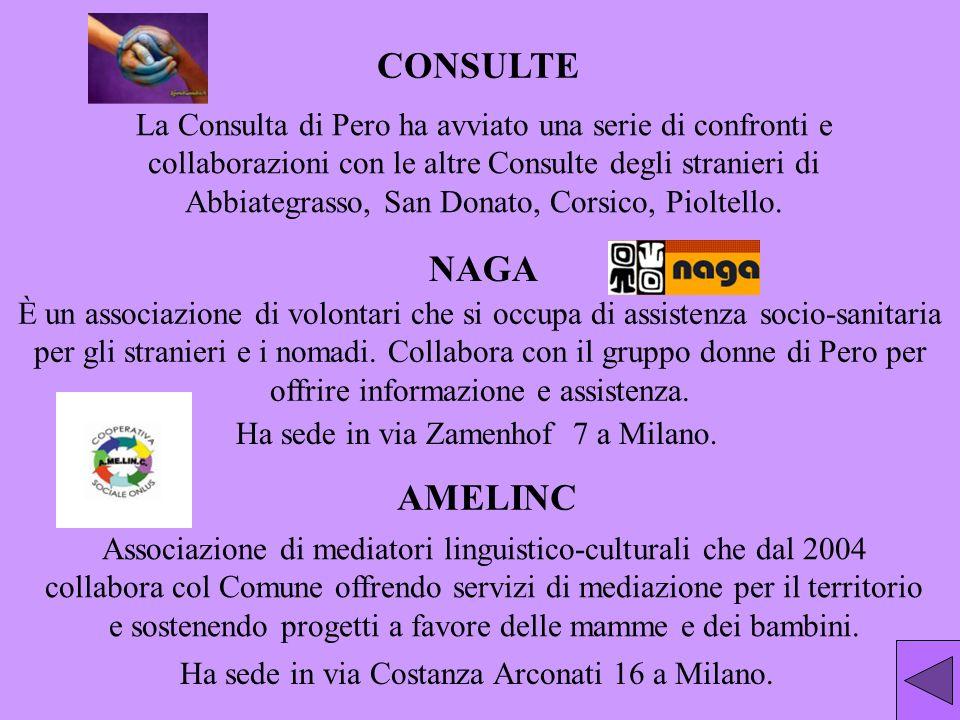 Associazione di mediatori linguistico-culturali che dal 2004 collabora col Comune offrendo servizi di mediazione per il territorio e sostenendo proget