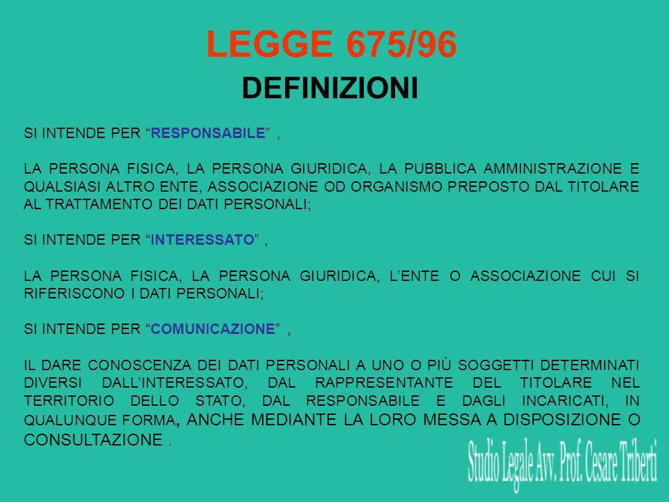OBBLIGATORIETA Art.39 (Obblighi di Comunicazione) 1.