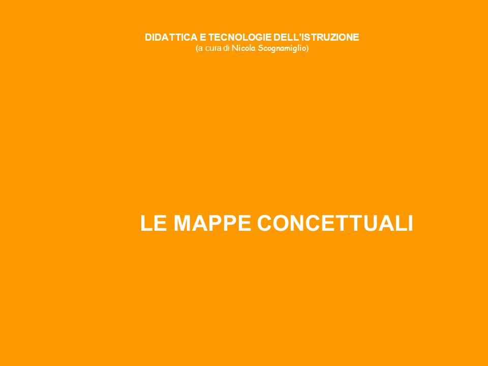 DIDATTICA E TECNOLOGIE DELLISTRUZIONE (a cura di Nicola Scognamiglio ) LE MAPPE CONCETTUALI