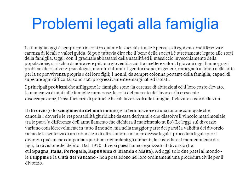 Grafico dei dati ISTAT 2005 sul numero di divorzi in Italia.