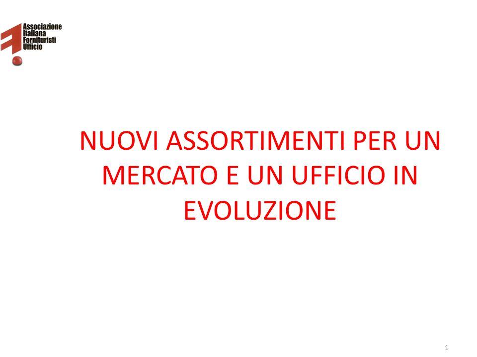 NUOVI ASSORTIMENTI PER UN MERCATO E UN UFFICIO IN EVOLUZIONE 1