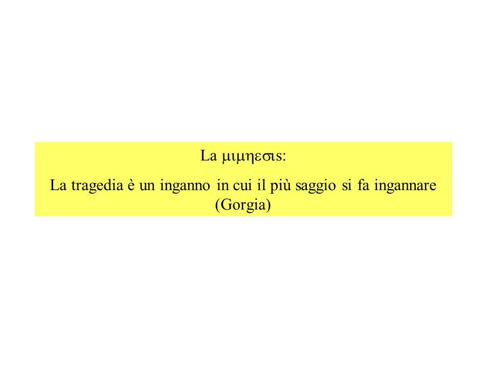 1) IL PATHOS Il dolore (ineluttabilità del).