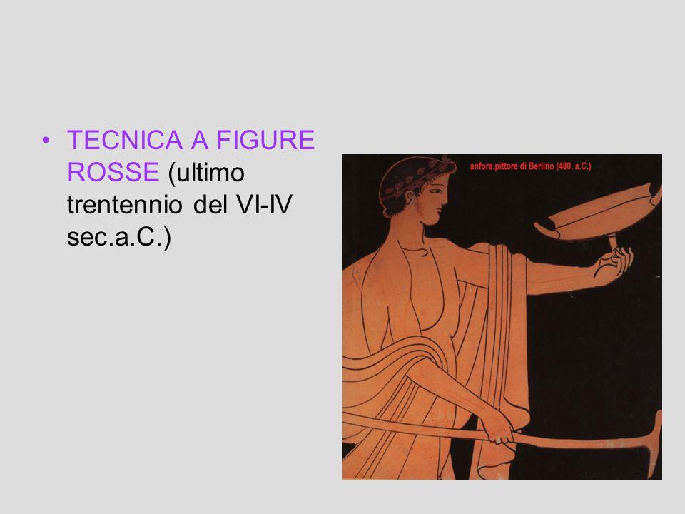 DATAZIONE TECNICA A FIGURE NERE (ultimo ventennio del VII-V sec.a.C.)
