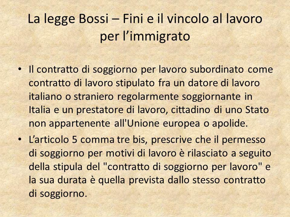 Tendenze recenti dellimmigrazione in Italia Mattia Vitiello ...