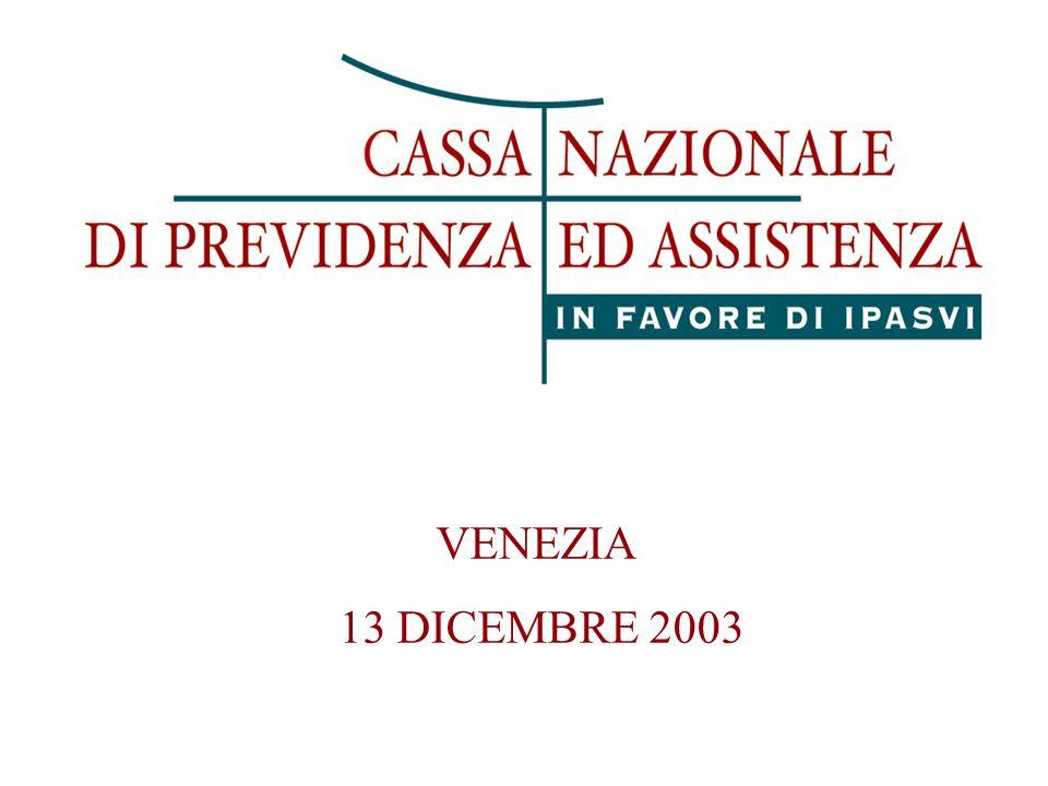 VENEZIA 13 DICEMBRE 2003
