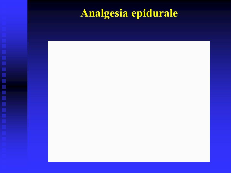 Analgesia epidurale