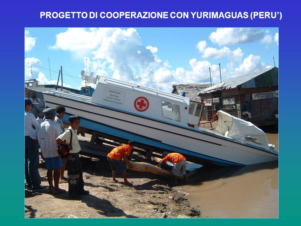 PROGETTO DI COOPERAZIONE CON YURIMAGUAS (PERU)