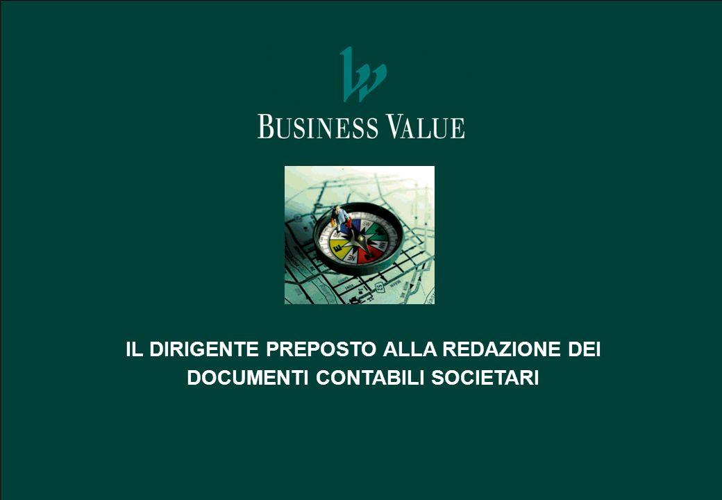 IL DIRIGENTE PREPOSTO PER LE SOCIETA QUOTATE 2 La legge 262/2005 Disposizioni per la tutela del risparmio e la disciplina dei mercati finanziari introduce il nuovo art.