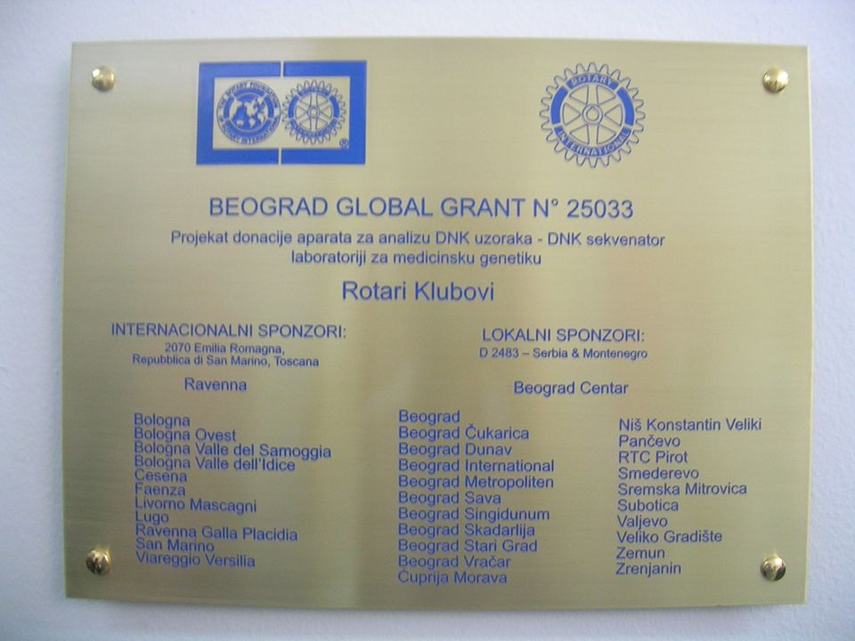 Delivering Celebration Belgrade, 15 – 16 June 2012 Rotary Club Ravenna Rotary Club Beograd Centar District 2070 District 2483 ________________________