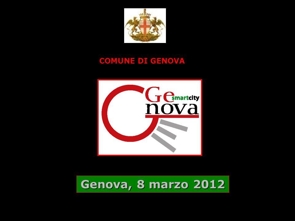 COMUNE DI GENOVA Genova, 8 marzo 2012