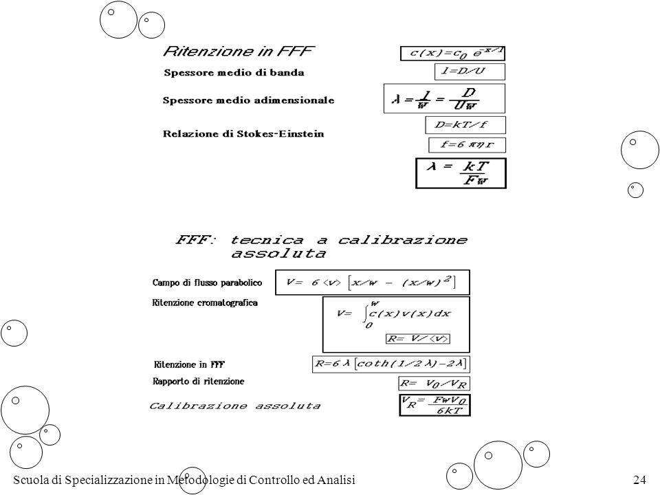 Scuola di Specializzazione in Metodologie di Controllo ed Analisi24
