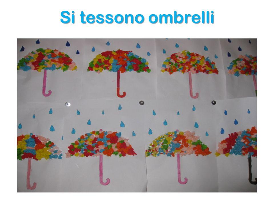Si tessono ombrelli