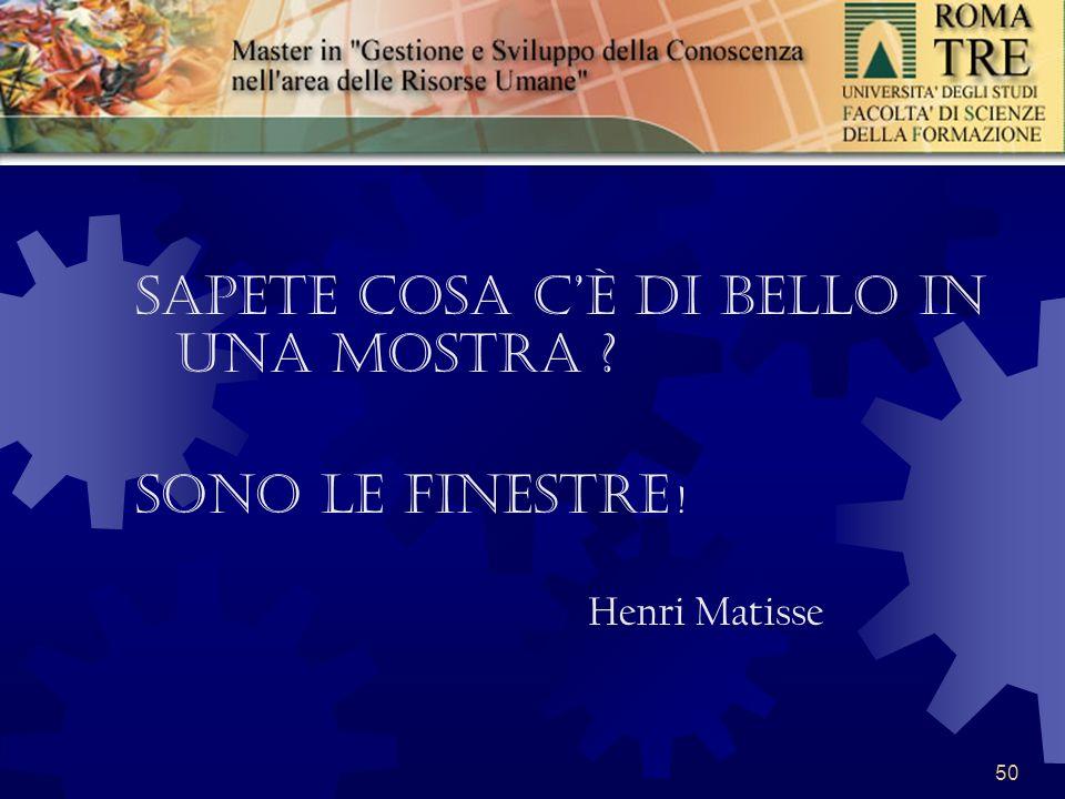 50 Sapete cosa cè di bello in una mostra Sono le finestre ! Henri Matisse