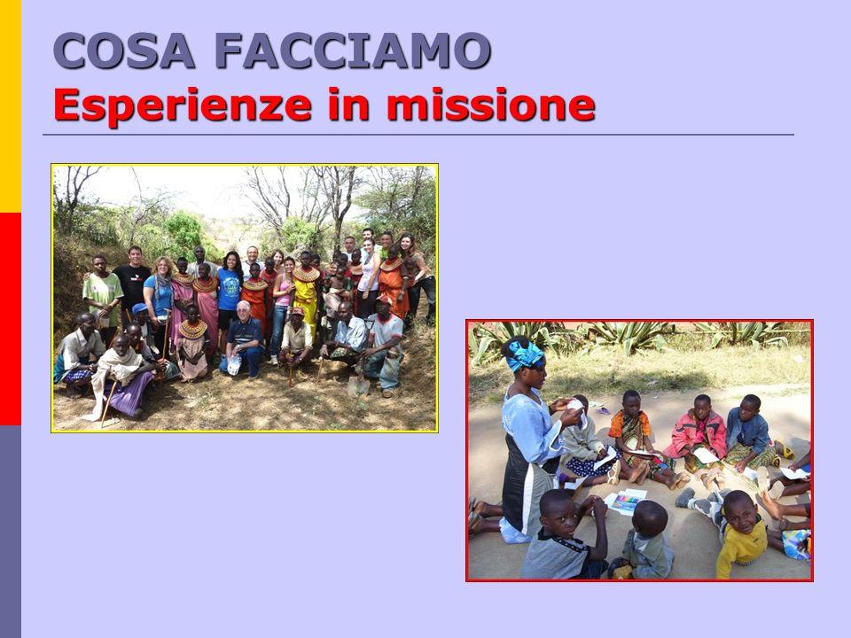 COSA FACCIAMO Solidarietà colombia AFRICA brasile sud africa tanzania costa davorio mozambico kenya rep.