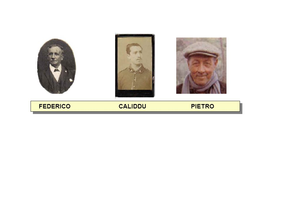 FEDERICO CALIDDU PIETRO