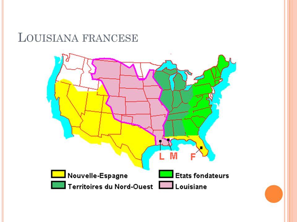 L OUISIANA FRANCESE