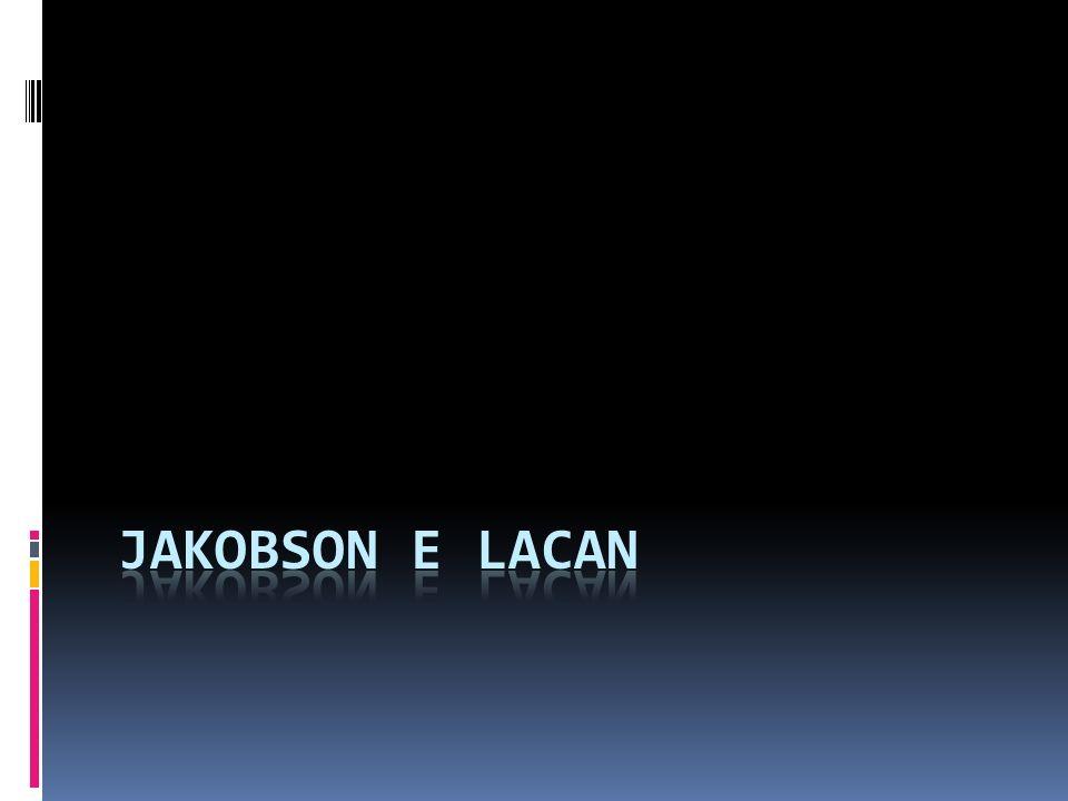 Jakobson Lacan Metafora e metonimia = iper-figure, cioè grandi gruppi di processi di significazione Metafore = figure fondate sulla similitudine Metonimie = figure fondate sulla contiguità Lacan : Metafora = condensazione far convergere su un elemento onirico le caratteristiche di molteplici elementi della realtà, secondo una catena associativa che linterpretazione può esplicitare (ad esempio, un personaggio del sogno può riunire in sé più persone reali Metonimia = spostamento dinamica con la quale si trasferisce un carattere da un elemento del sogno ad un altro (ad esempio, da un personaggio, che possiede quel carattere nella realtà, ad un altro personaggio onirico)