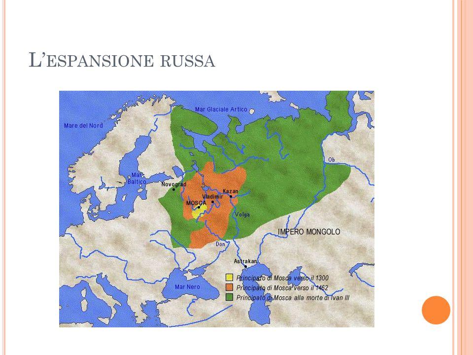 L ESPANSIONE RUSSA