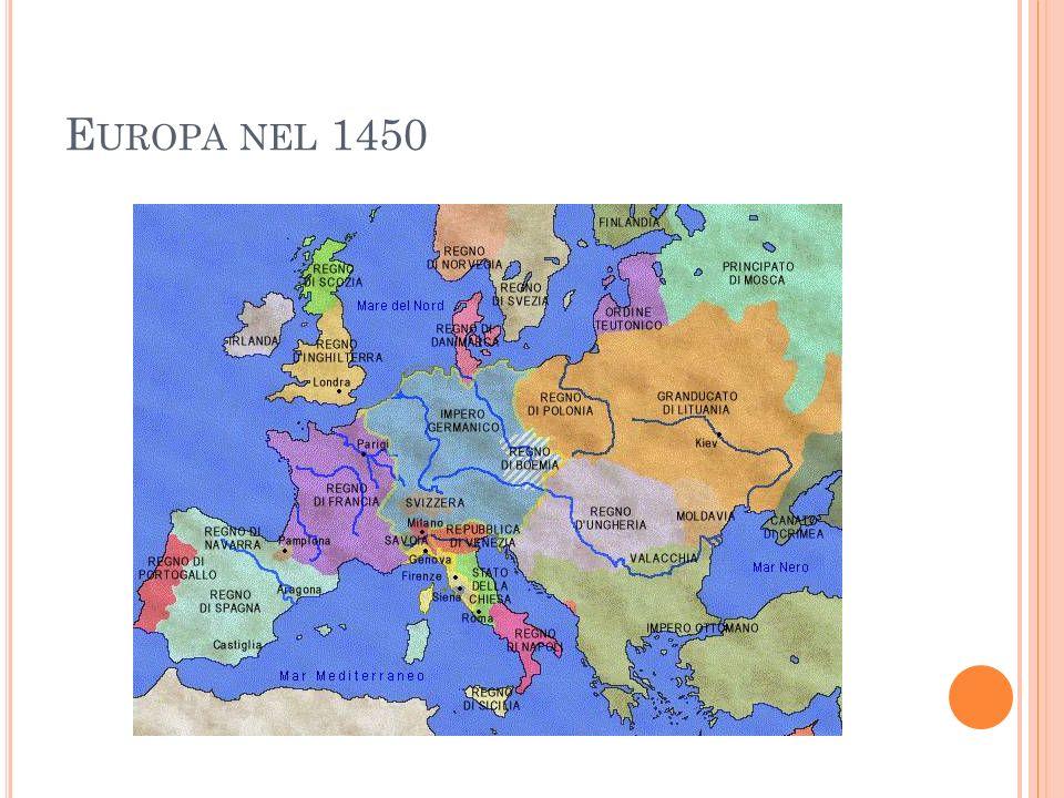 E UROPA NEL 1450