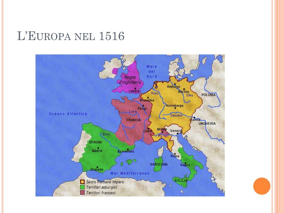 LE UROPA NEL 1516