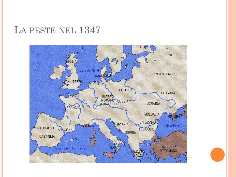 L A PESTE NEL 1347
