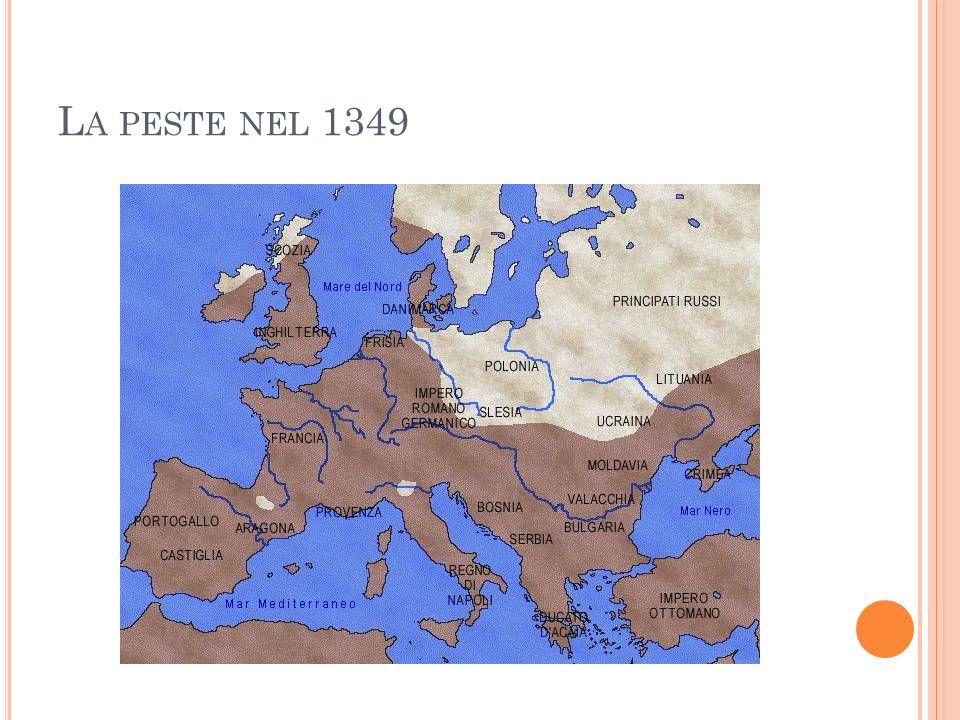 L A PESTE NEL 1349