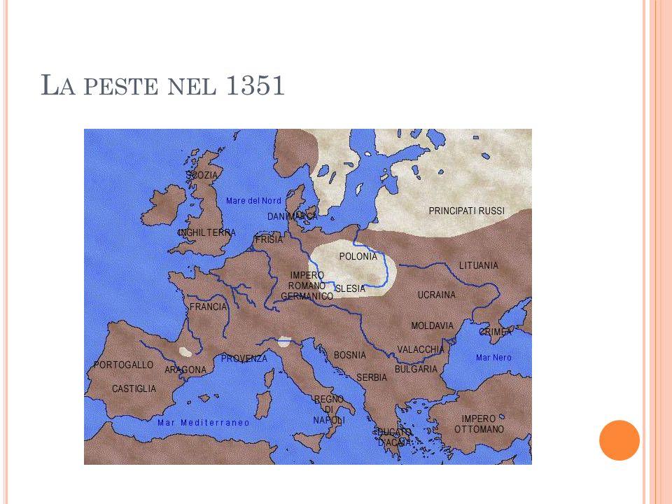 L A PESTE NEL 1351