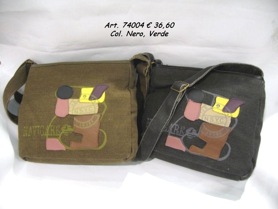 Art. 74004 36,60 Col. Nero, Verde