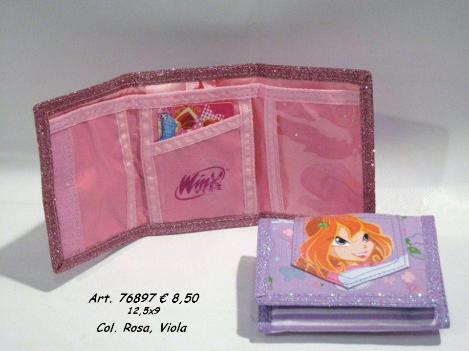 Art. 76897 8,50 12,5x9 Col. Rosa, Viola