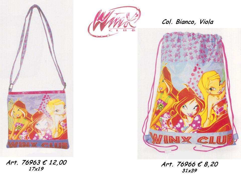 Col. Bianco, Viola Art. 76966 8,20 31x39 Art. 76963 12,00 17x19
