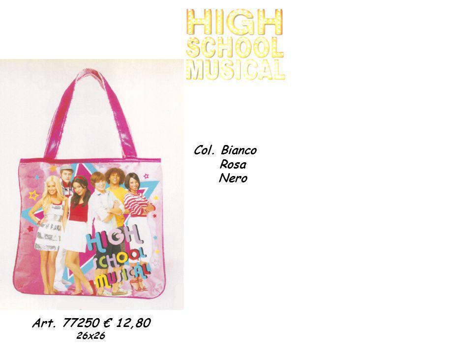 Art. 77250 12,80 26x26 Col. Bianco Rosa Nero