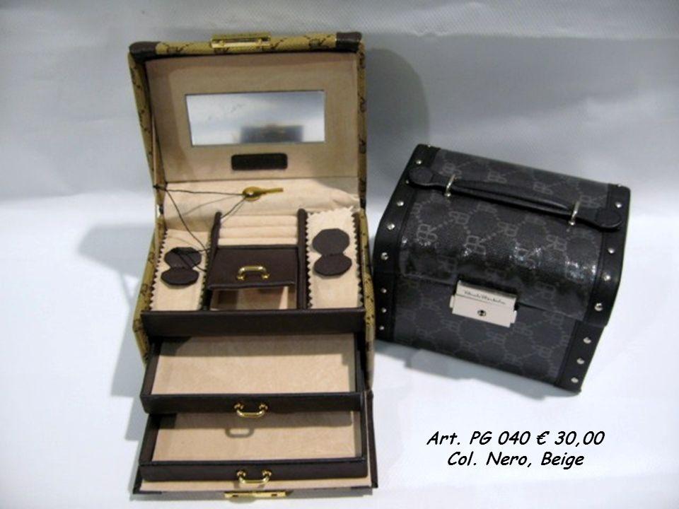 Art. PG 040 30,00 Col. Nero, Beige