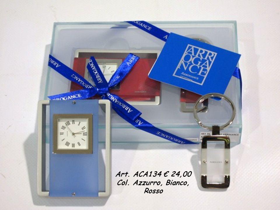 Art. ACA134 24,00 Col. Azzurro, Bianco, Rosso