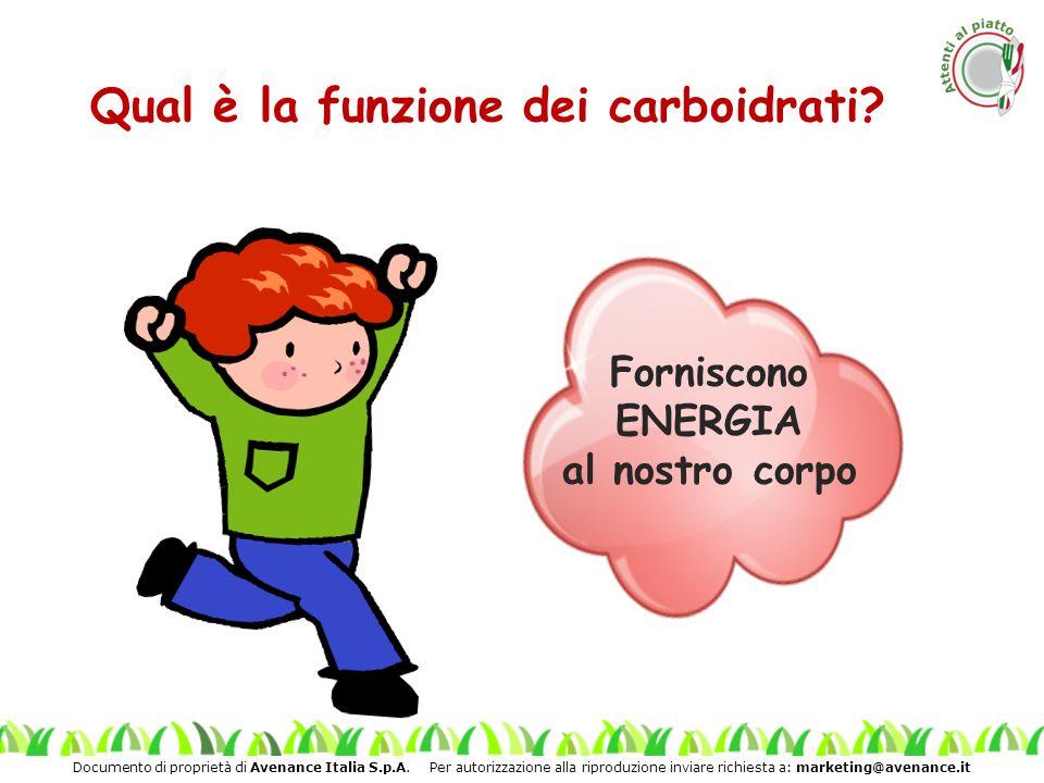 Documento di proprietà di Avenance Italia S.p.A. Per autorizzazione alla riproduzione inviare richiesta a: marketing@avenance.it Qual è la funzione de
