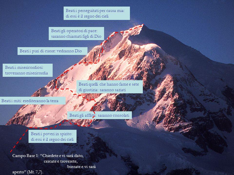 Campo base 2: Tutto quanto volete che gli altri facciano a voi, anche voi fatelo loro (Mt.