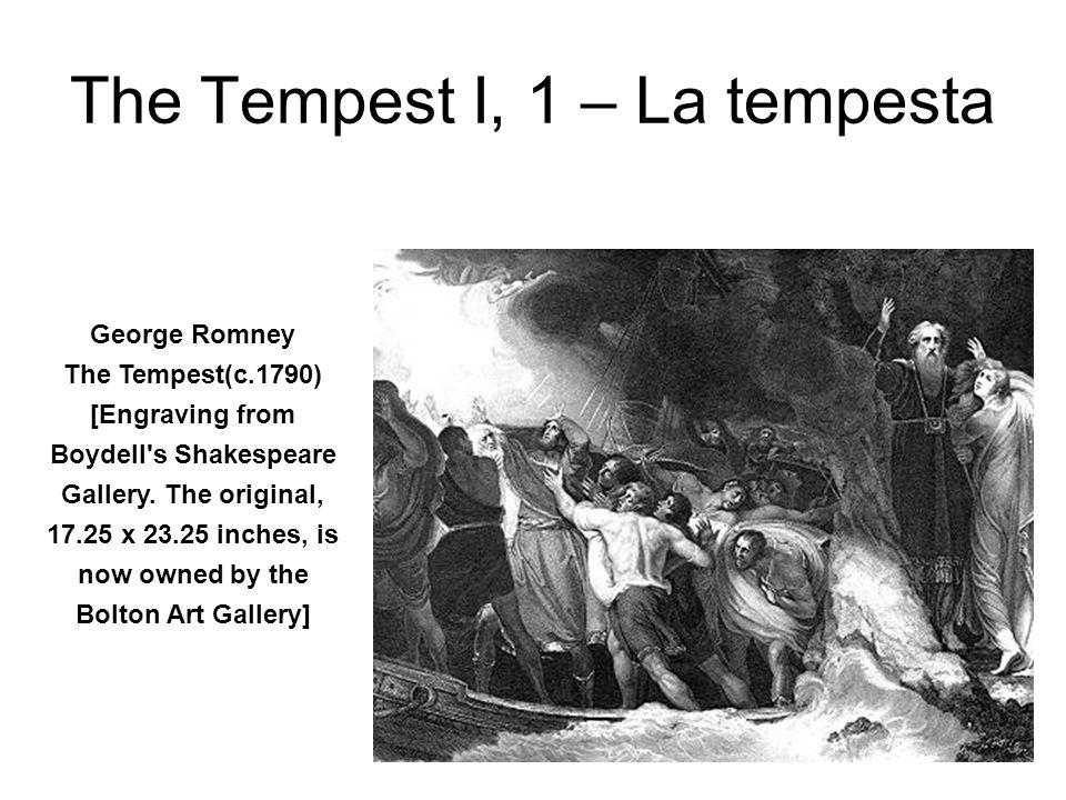The Tempest, I,2 (Nicholas Hytner, 1988) designed by David Fielding) Prospero (John Wood, left) and Caliban (John Kane, right)