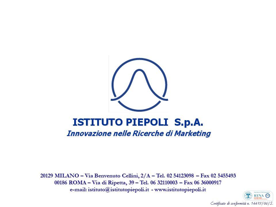 43 20129 MILANO – Via Benvenuto Cellini, 2/A – Tel.