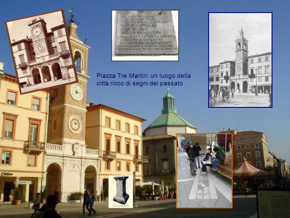 Piazza Tre Martiri: un luogo della città ricco di segni del passato