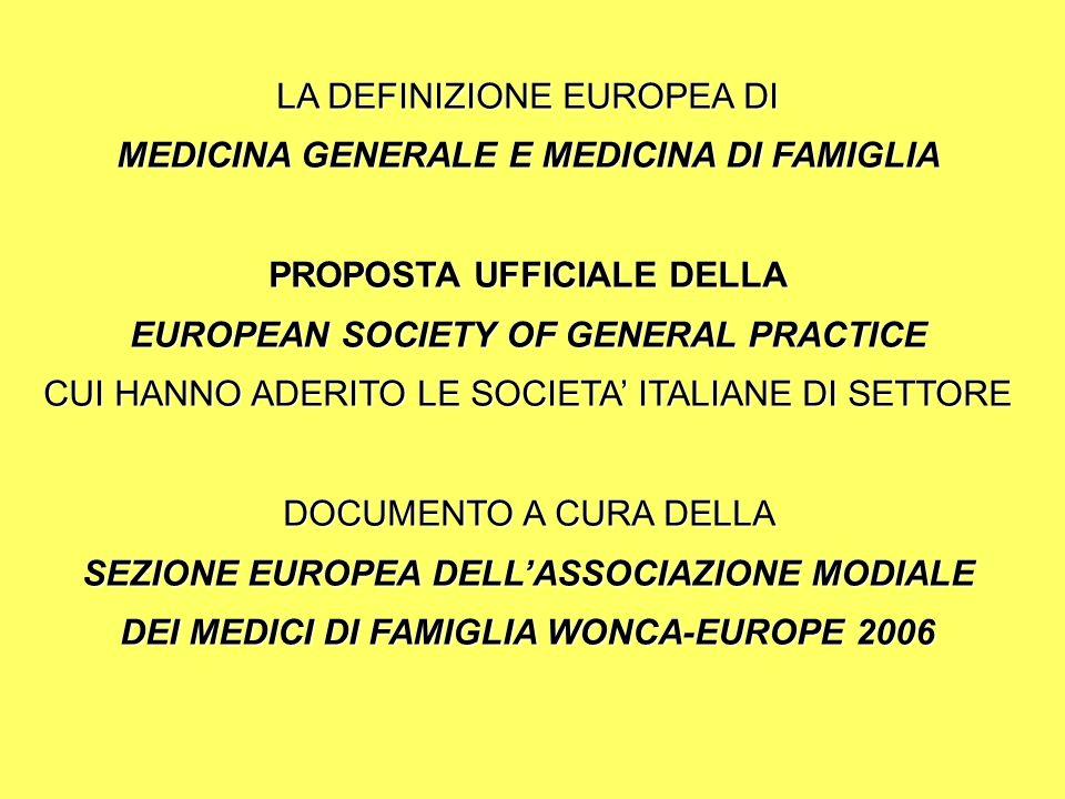 CODICE DI DEONTOLOGIA MEDICA (2006) Art.23: Continuità delle cure …..